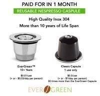 Evergreen Capsulas