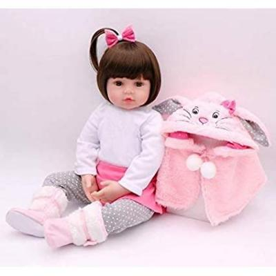 Icradle 18 Pollici  22 Pollici Lovely Baby Doll Rinato Real Life Looking Newborn